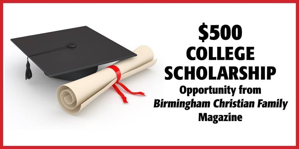 $500 College Scholarship Opportunity